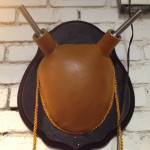 Buckskin leather wrapped