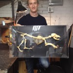 Finished Dog skeleton