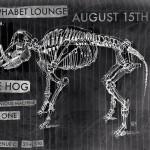 Alphabet Lounge Hog Show Poster