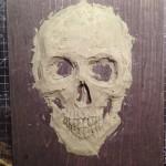 Skull relief 2