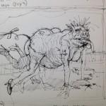 Whore pig sketch