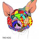 Hog show poster for Sidewalk Cafe on October 11th.