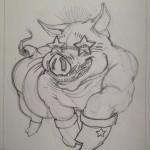 Funk boot pig