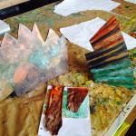 Stone Fish acrylics