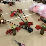 Fire fly puppets!