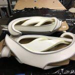 Raw foam cuts